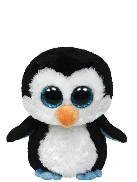 Beanie Boo's, Waddles (33 cm). Waddles-pingviini taapertaa suoraan sydämeesi. Pehmolelun korkeus on 33 cm.