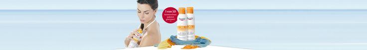 Bis 17.05.2017 | Sonnige Aussichten: Gewinnen Sie Sonnenschutz mit Schnell-Trocken-Effekt!** | Eucerin