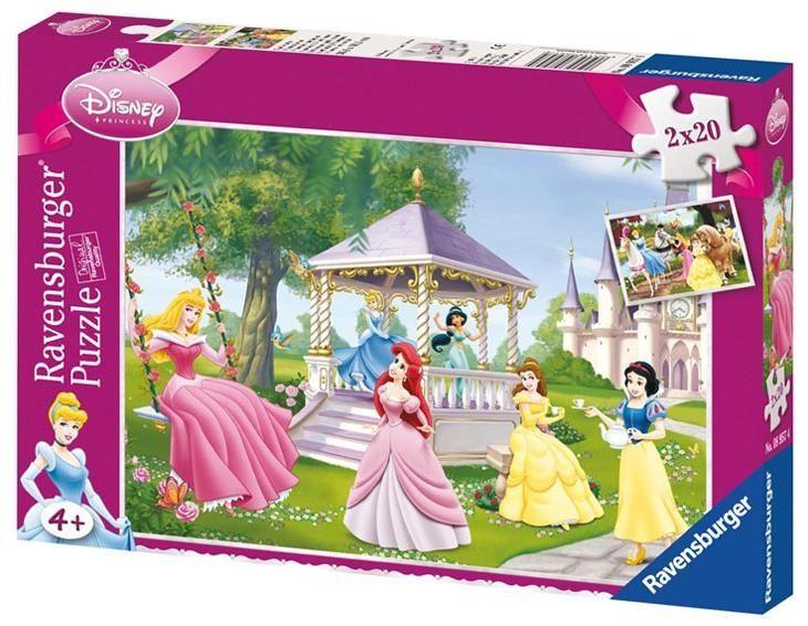 Hercegnők puzzle 2 x 20 db (Ravensburger) | Pandatanoda.hu Játék webáruház