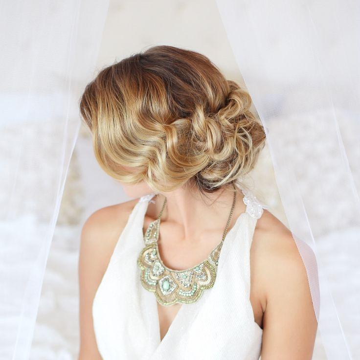 Modern Wedding Hairstyles: Modern Vintage Updo Inspired By @Melissamariehair