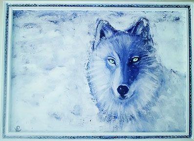 Loup dans la neige https://www.facebook.com/vepons