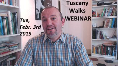 Join my #webinar about #Tuscany #walks . Secure your spot here: http://www.anymeeting.com/PIID=EB54D985874730