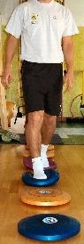 esercizi propriocettivi per la caviglia