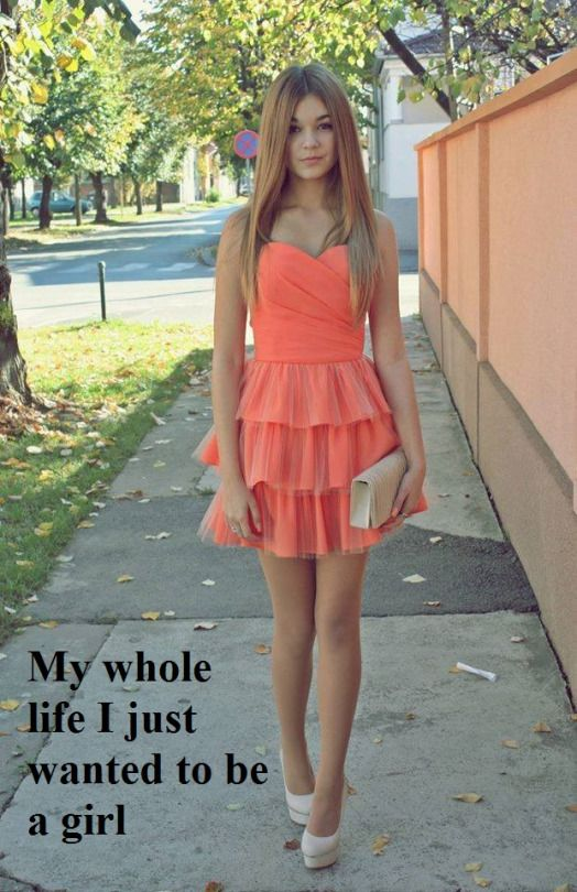 943206087446f4 The caption says it for me. When I was 18, I moved out from home and into  my own apartment so I could be a girl. I had a male … | crossdressing ...