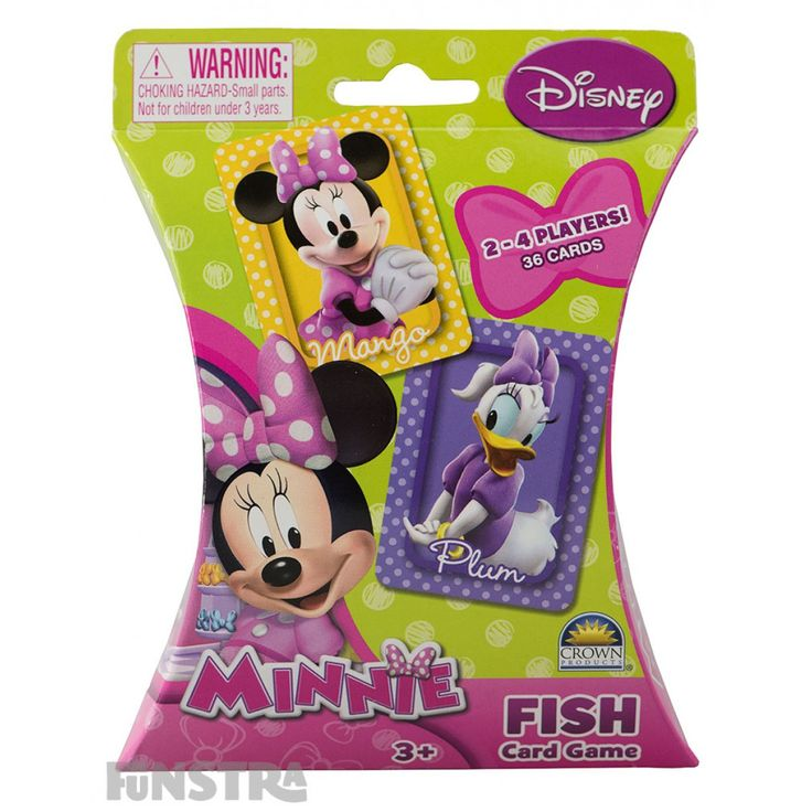 Minnie Fish Card Game from Funstra Toys