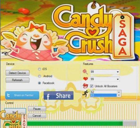Candy Crush Saga Hack