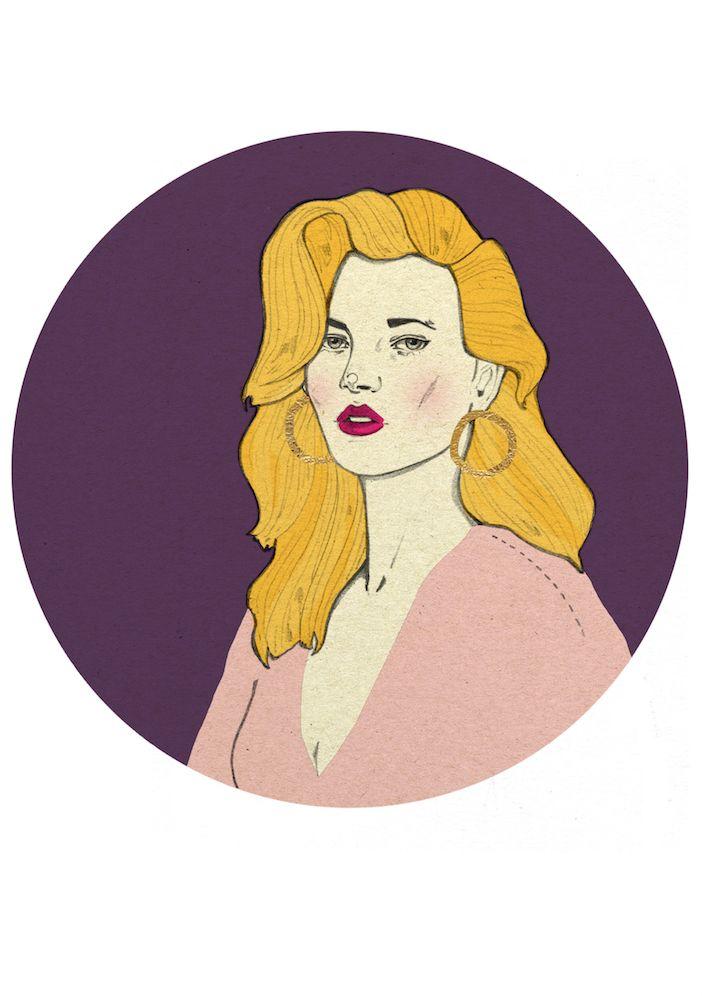 Kate Moss by Magdalena Pankiewicz
