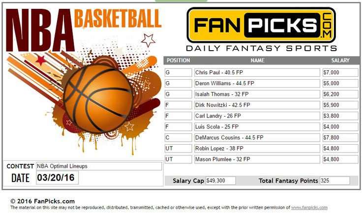 #DeronWilliams and #DirkNowitzki put on a show in Dallas. They've scored a total of 71 points together in the 137 Mavs total against the Trail Blazers yesterday. They both warranted a spot in the Optimal Lineup.  #NBA #1dayfantasyleague #valuepicks Take a shot at #fantasybasketball tonight for your chance to win cash and prizes! www.fanpicks.com