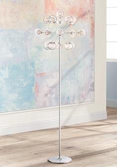 Possini Euro Design 16-Light Chandelier Floor Lamp