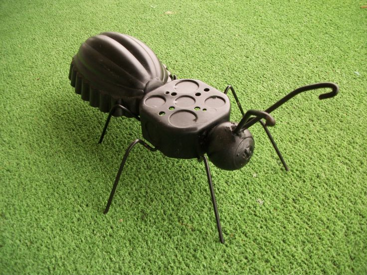 Junk Art Metal Ant Garden Art Yard Art Recycled