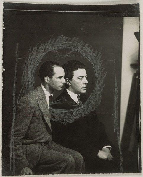 Man Ray - Louis Aragon et André Breton (1925)