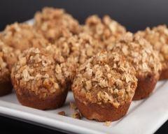 Crumb muffins sucrés patate douce et noix de pécan (facile, rapide) - Une recette CuisineAZ