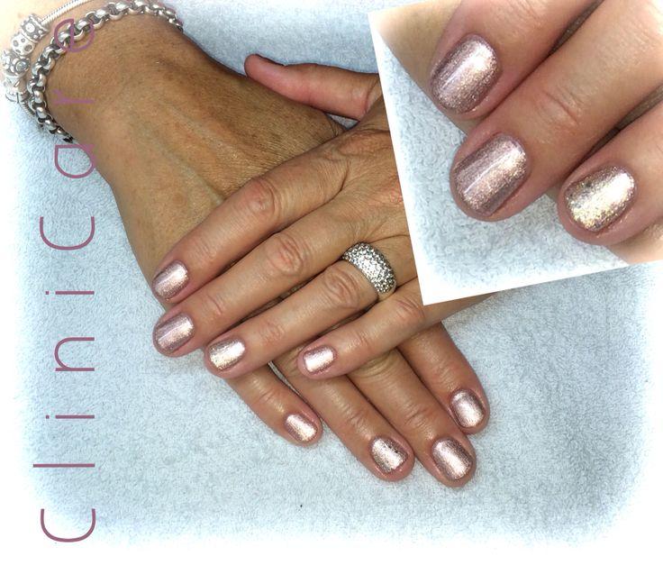 Use CND SHELLAC to create stylish nails! Chiffon Twirl, gelpolish, gel, pink, shimmer @ clinicare