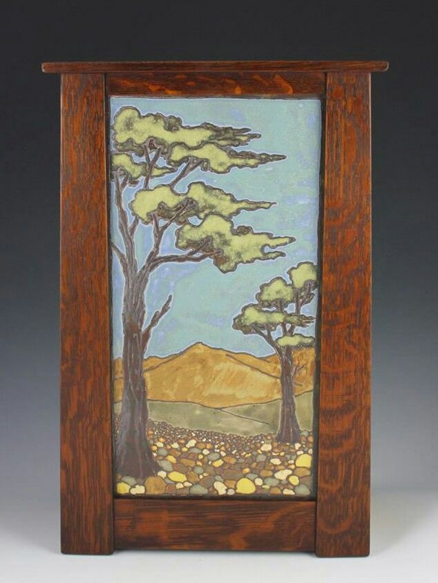 Image Result For Arts And Crafts Style Frame Arts Crafts Style Tile Art Craftsman Paintings