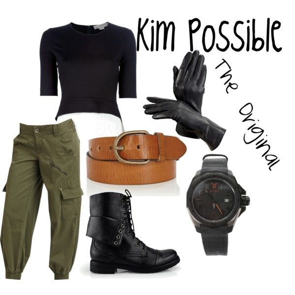 """Kim Possible Inspired"" by megancattey on Polyvore"