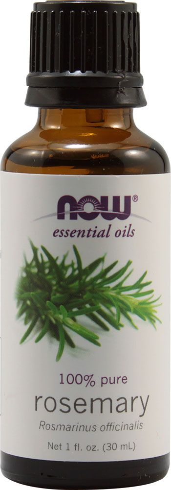 NOW Foods Essential Oils Rosemary--Love this because it hasn't been chemically extracted!