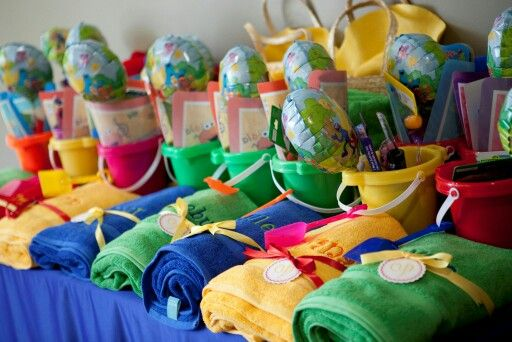 Beach Pail Party Favors Saying Thank You For Coming: 17 Best Images About Eve's 2nd Bday Ideas (simple And