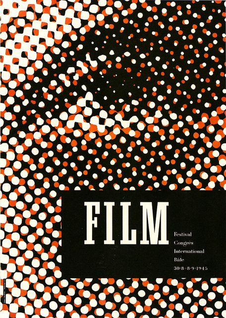 maybe use PS filters on a single photo then title + journal in the box... Very cool (Film 1945 Poster by Fritz Buhler)