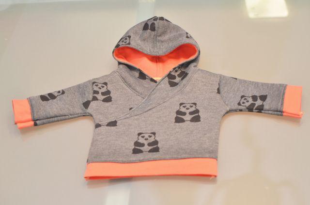 Baby sweatshirt  Schnitt+Anleitung