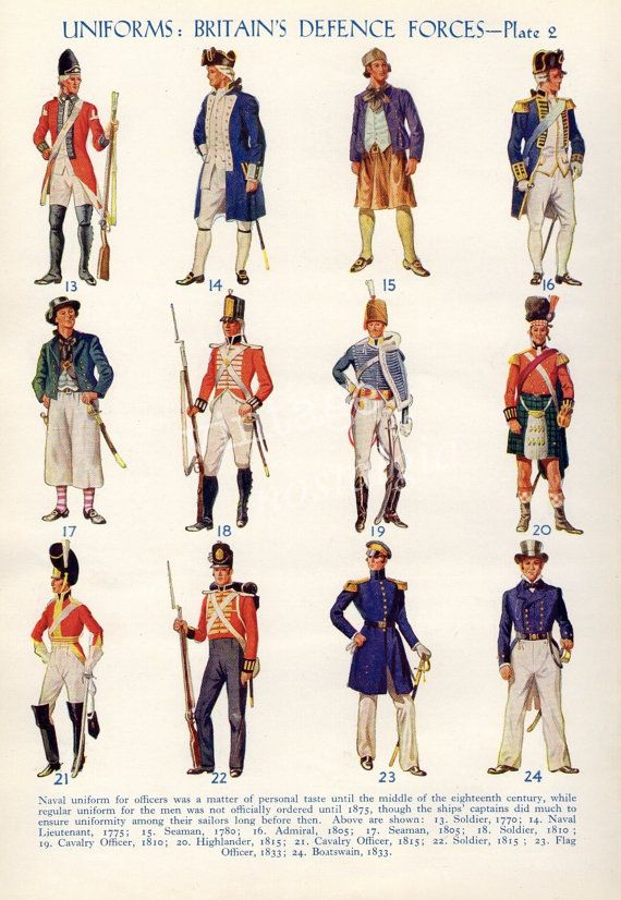Vintage uniforms print history military uniforms boy bedroom decor military decor via Etsy