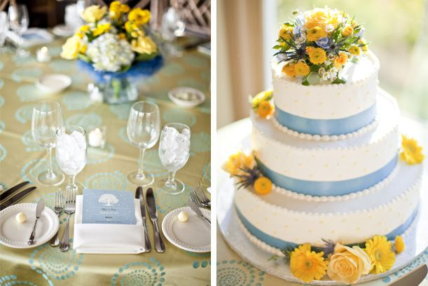 light blue and yellow wedding cakes 25 best light blue yellow wedding ideas images on 16852