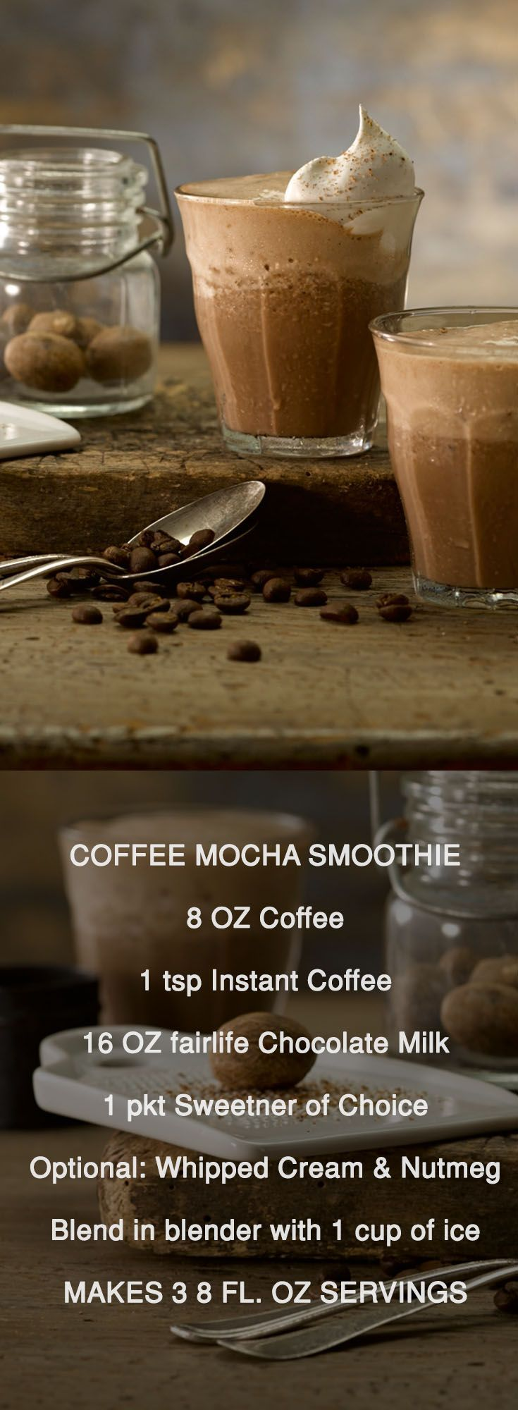 Need to jumpstart your morning? Why not blend up a Coffee Mocha Smoothie!? Grab …