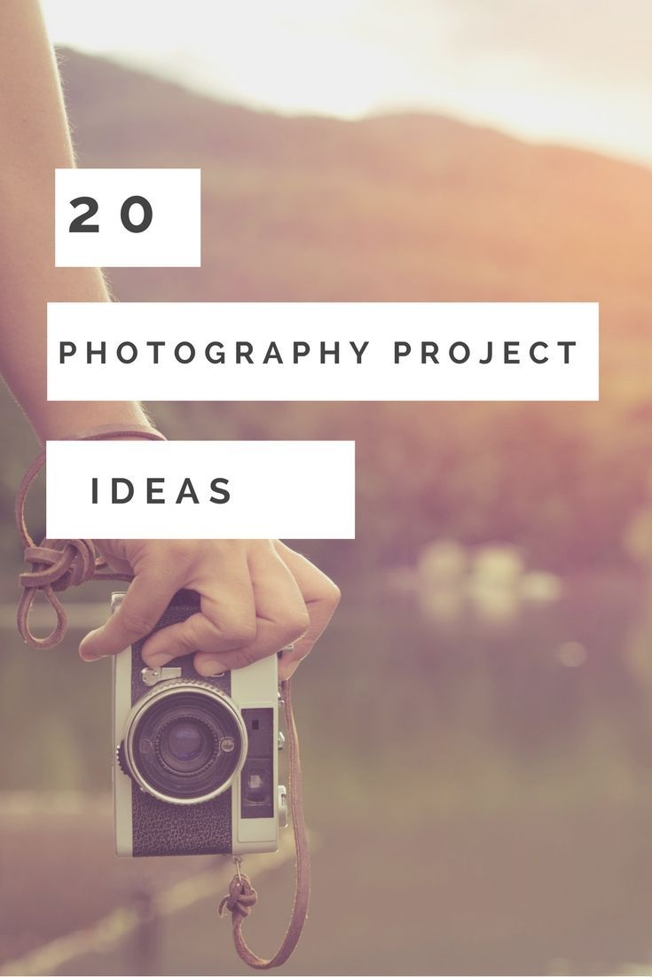 20 Photography Project ideas to help you to improve your photography skills and take better photos.