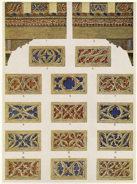 Средневековое искусство и готический орнамент Средневековое искусство и готикический орнамент #17