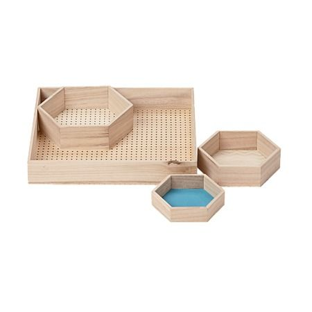 Morocco Trinket Tray 4 Piece