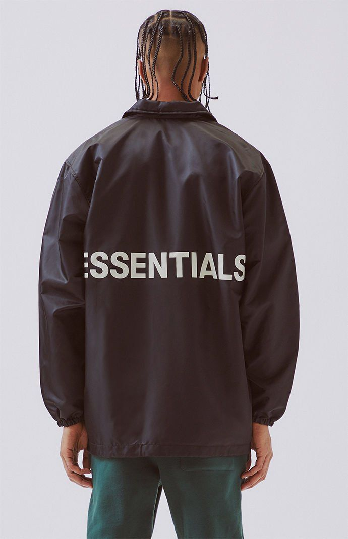 2c9938dee FOG - Fear Of God Essentials Coach Jacket | PacSun | things that ...