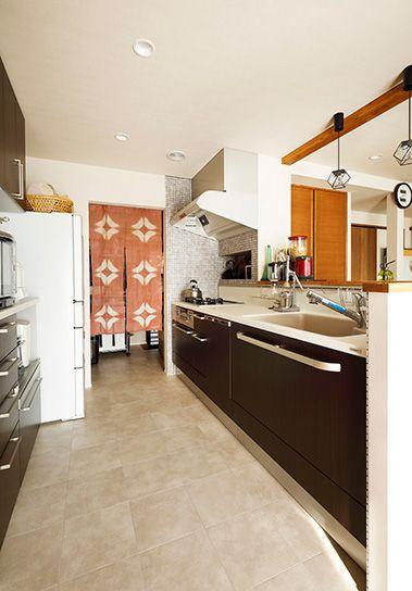 リフォーム・リノベーションの事例 1F キッチン 施工事例No.572ちょうどいい距離感の二世帯住宅 スタイル工房