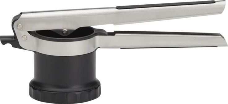 Got, not sure if I love it. Seems like an extra piece in my Junk drawer.  OXO  Potato Ricer  | Crate & Barrel  $30