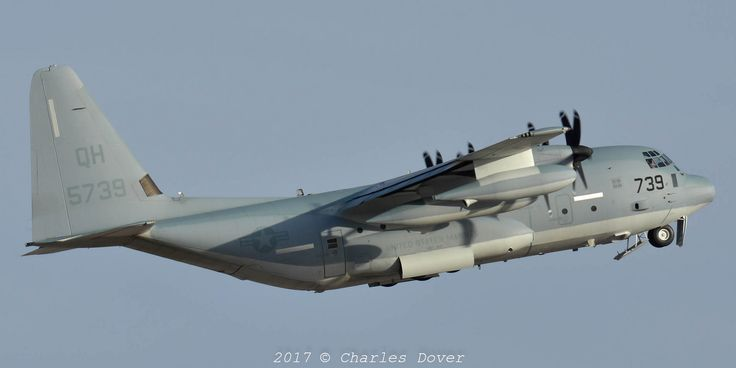 https://flic.kr/p/Ua76Hy | KC-130J 165739/QH-739 VMGR-234 | Late afternoon departure for this Dallas KC-130 on another WTI mission.
