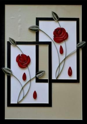 Quilled Flower by sophia