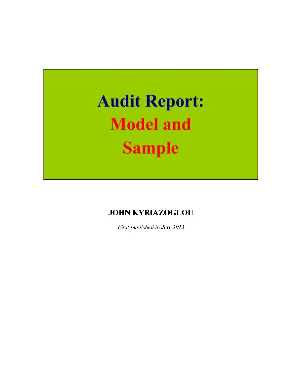 9 best flevy Marketplace for Premium Business Document images on - audit report template word