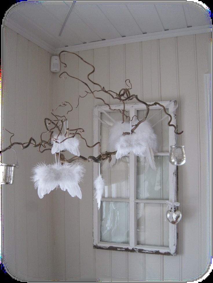 Feather Angel Wings Wall Decor : Pin by tiphenn josso on courant d air