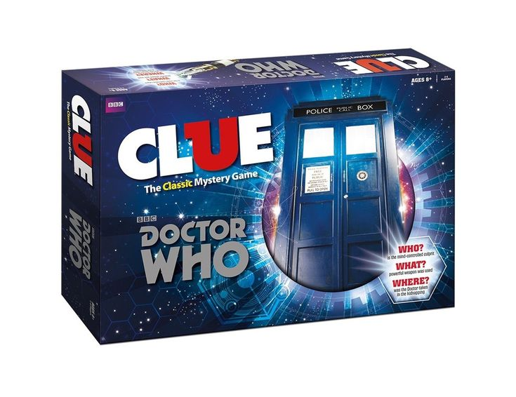Doctor Who Clue Board Game Free Shipping #factorytoy