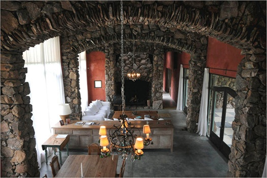 close yours eyes and wake up here: Castle House, Idea, Dream House, House Interiors, Stones, Uruguay, Stone Houses