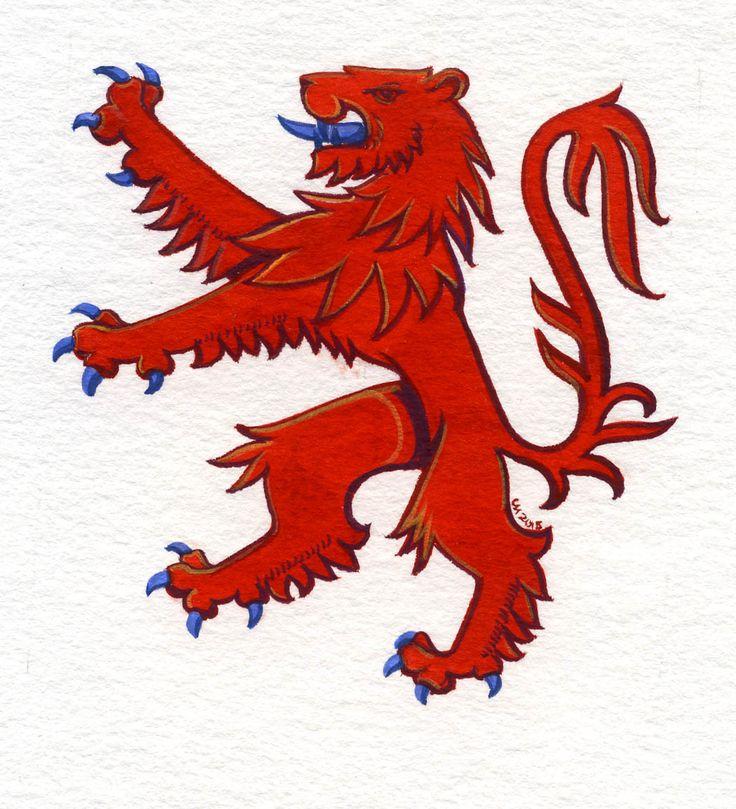 Scottish Lion Tattoo: 153 Best Images About Tats On Pinterest