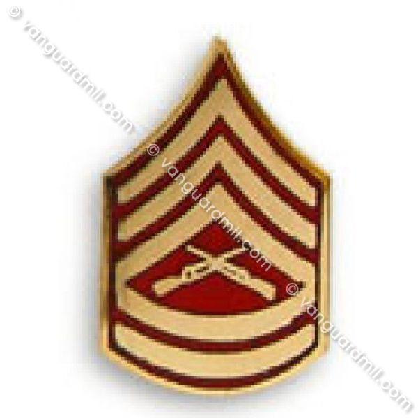 marine corps tie tac gunnery sergeant tie tac