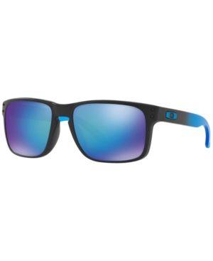 Oakley Sunglasses, OO9102 Holbrook Prizm Sapphire - Blue