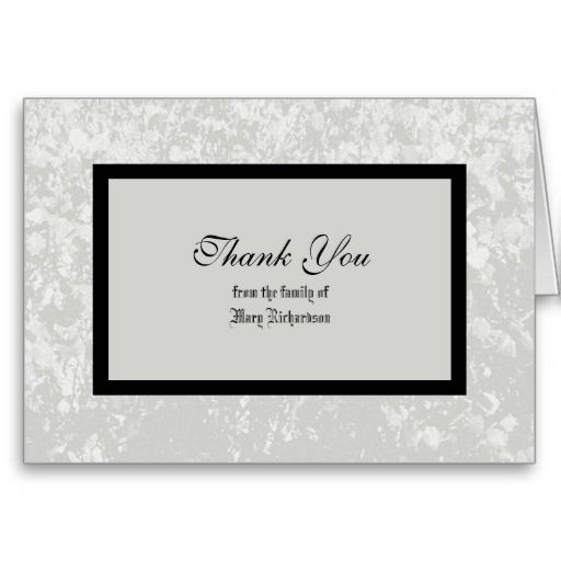 17 best Funeral Thank You Card images on Pinterest Lyrics, Text - thank you note for money