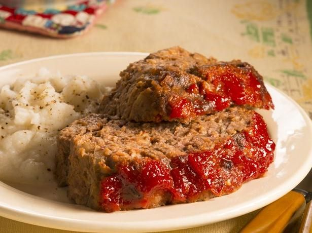 ... this herb-flecked meat loaf is everything a good meat loaf should be
