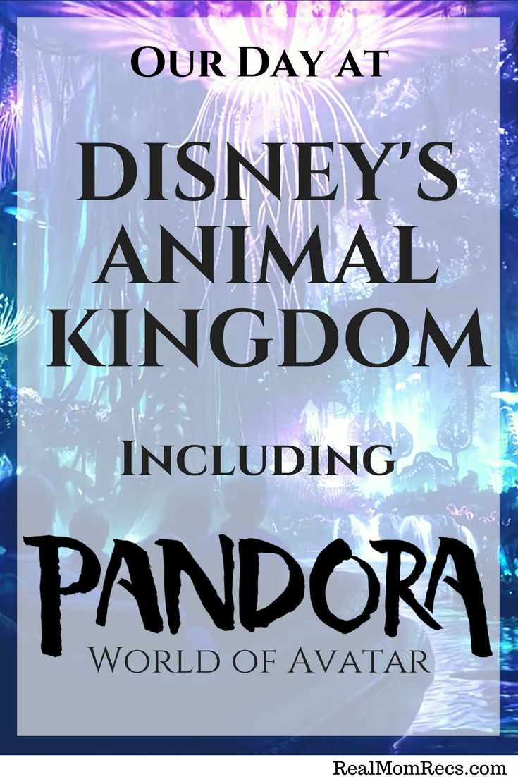 Follow along with our mother daughter trip to Walt Disney World, starting with day 1 at Animal Kingdom. Find out what we thought of the new Pandora World of Avatar.