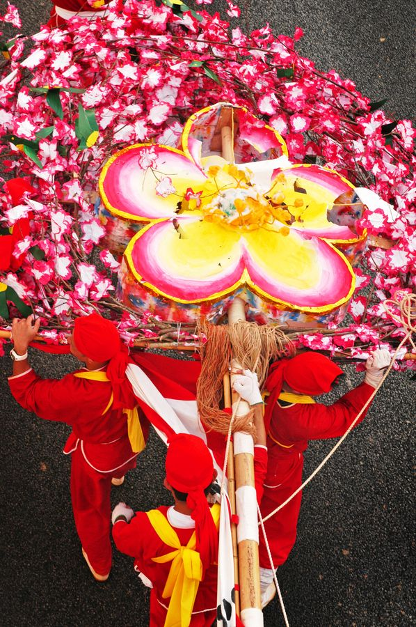 Okinawa Festival, Japan.  There's reputedly at least one festival every day in fair Nippon...