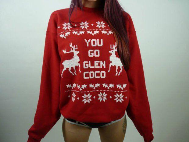 You Go Glen Coco Ugly Christmas Sweater Hoodies [9343886404]