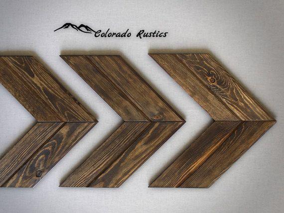 Wood Arrow Decor Chevron Rustic Home Decor Wood by ColoradoRustics