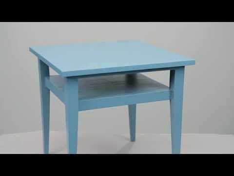 Huonekalun maalaus - YouTube