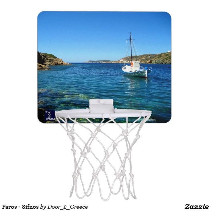 Faros - Sifnos Mini Basketball Hoop