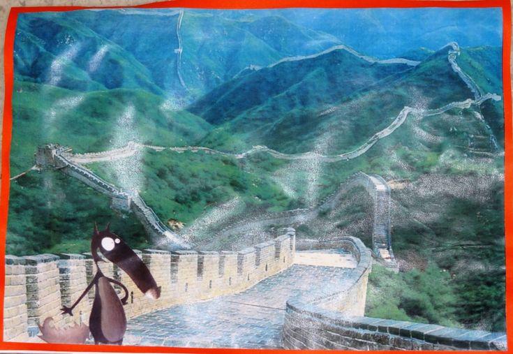 Le tour du monde de Loup : La chine